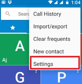 Call waiting settings on android phone
