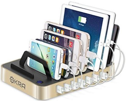 Okra pixel XL charging docks