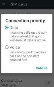 Poor sound quality on calls android