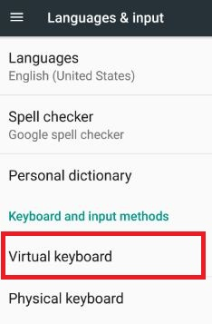 How to disable keyboard vibration android nougat 7 0 & 7 1