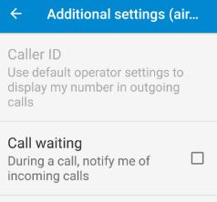 hide caller id moto g4 plus