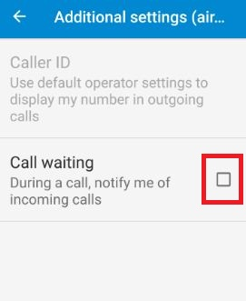 How to turn on call waiting android nougat 7 0 & 7 1 1