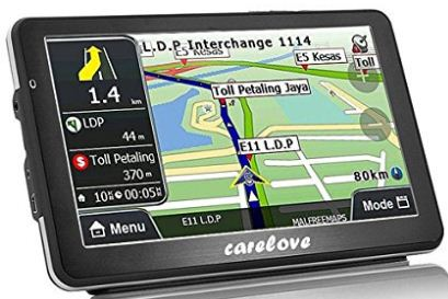 Carelove car GPS navigation device 2017