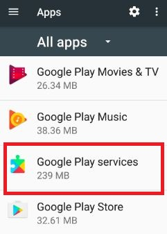 Google Play Services has stopped error: How to fix