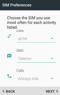 How to manage dual SIM android 7.0 nougat