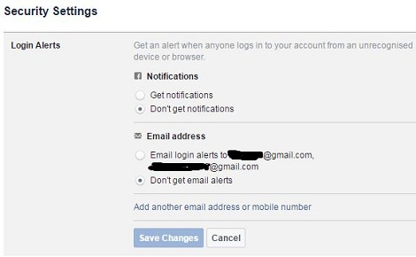 How to secure facebook account from hackers on computer