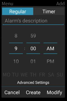 I can't wake up alarm clock app for android