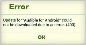 fix Google play store error 403