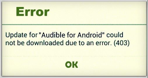 How to fix Google play store error 403 in android phone