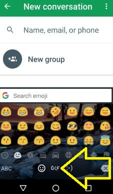 send GIFs with Google Keyboard