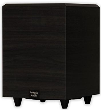 Acoustic home audio subwoofer