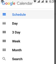 Set schedule time on android nougat