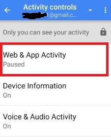 Stop Web & app activity android
