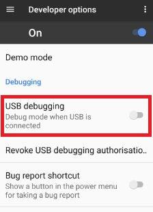 Disable USB Debugging on Google pixel & pixel XL