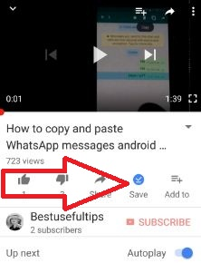 save you tube videos