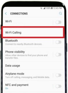 How to enable Wi-Fi calling on galaxy S8 and galaxy S8 plus
