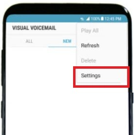 How to reset voicemail password on galaxy S8 and galaxy S8 plus
