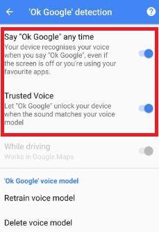Make sure Turn on Ok Google detection in pixel phone