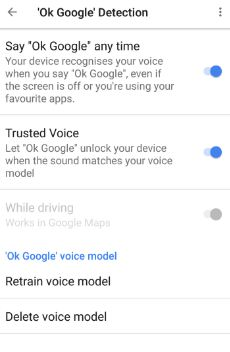 OK Google detection on Google pixel & pixel XL