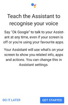 Teach assistant to recognise your voice in pixel