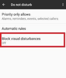 Turn off block visual disturbances Pixel XL