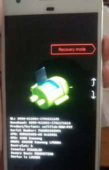 Use Recovery mode on Google pixel