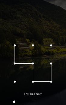 set pattern lock on Google pixel and pixel XL