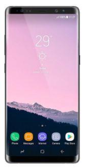 Hard reset Samsung galaxy Note 8 phone