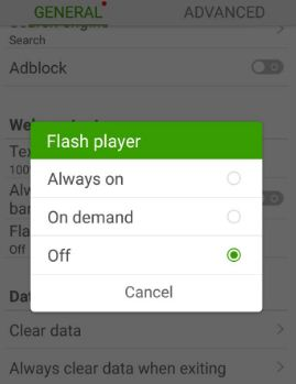 How to install flash player on galaxy S8 and galaxy S8 plus