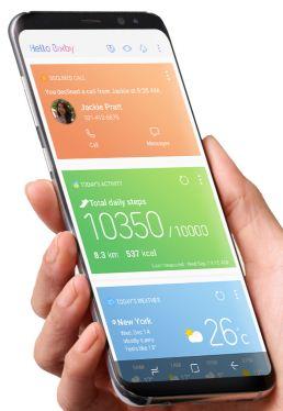 Use Bixby on Samsung galaxy S8 plus phone