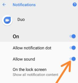 Disable app notification sound on android 8.0 Oreo