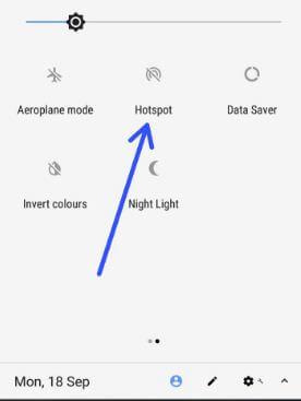 Turn on Hotspot on android 8.0 O