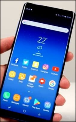 Change home screen launcher on Galaxy Note 8