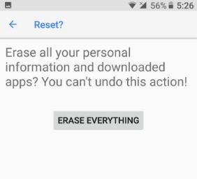 How to factory reset android 8 1 Oreo: Two handy ways