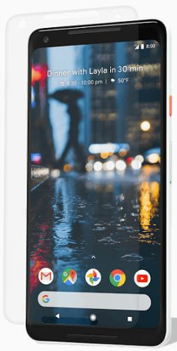 Tempered Glass screen protector for Pixel 2 phone