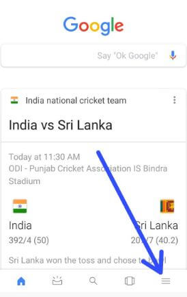 Customize Google feed on android phone