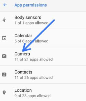 How to control app permission on android 8 1 Oreo