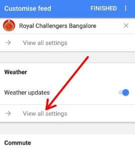 Customize weather widgets in Pixel 2 Oreo