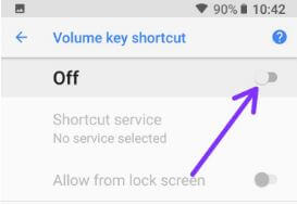 Disable accessibility shortcuts in android Oreo