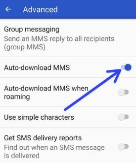 Fix Google Pixel 2 not receiving MMS after Oreo update