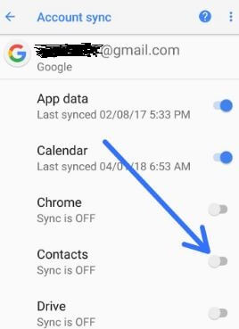 how to add google contacts on android