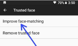 Imporve face making in android to fix trusted face not working issue