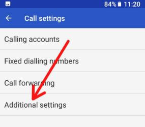 Additional settings in android 8.0 Oreo