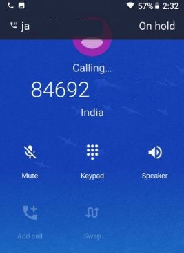 Conference call on Google Pixel 2 Oreo