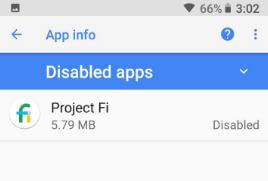 Disable stock apps in android Oreo 8.0 & 8.1