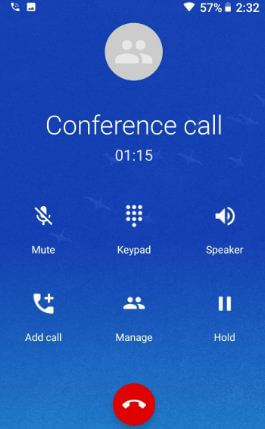 Make a Google Pixel conference call