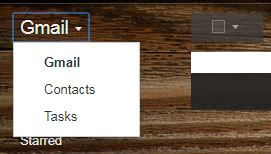 Select contacts in your Gmail account on PC
