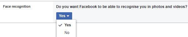 Face recognition facebook