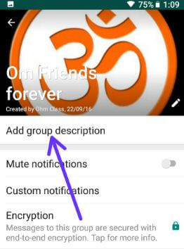 whatsapp how to add new group