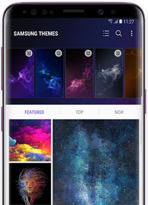 How to change wallpaper on Galaxy S9